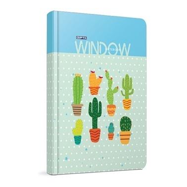 Gıpta  Window 9*14 Çizgisiz 120 Yaprak Defter  Renkli